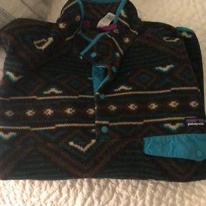 Men's Patagonia snap t pullover